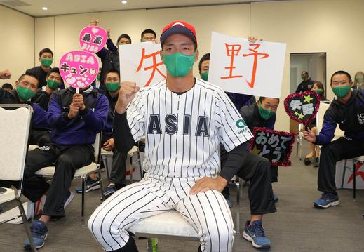 広島ドラフト6位 亜大・矢野雅哉、昨秋首位打者の俊足強肩ショート「肩の強さが1番のウリ。1年目からレギュラーとりたい」