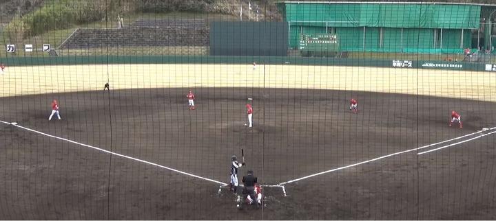 20210222カープ二軍練習試合_日本新薬戦1
