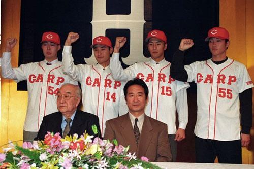 1996年入団会見