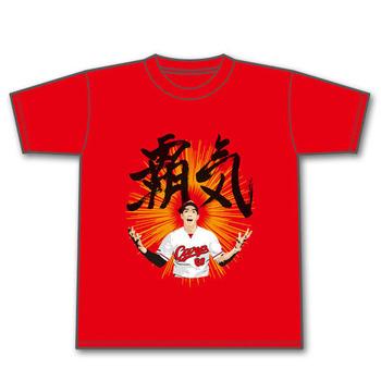 安部覇気Tシャツ1