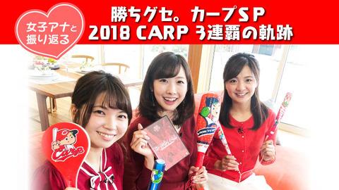 20181229女子アナと振り返る 2018CARP1