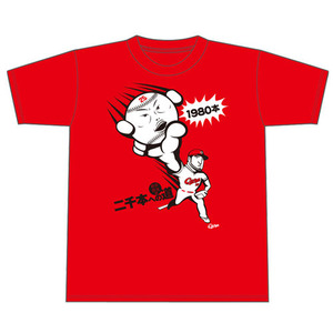 新井Tシャツ2000本安打カウントダウン17