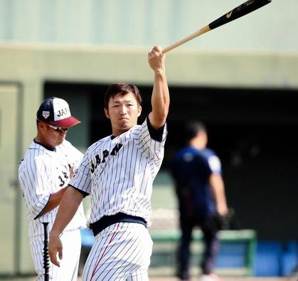 鈴木誠也日本代表71