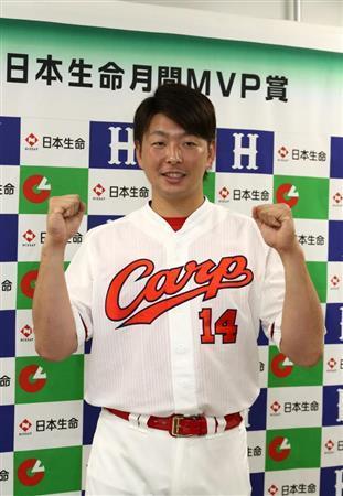カープ大瀬良が「月間MVP」を初受賞!5月度は4戦4勝2完投
