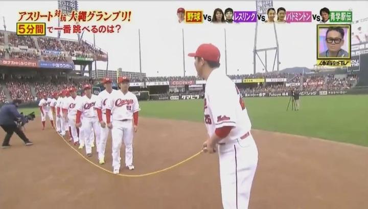 20170121炎の体育会TVカープ大縄跳び参戦60