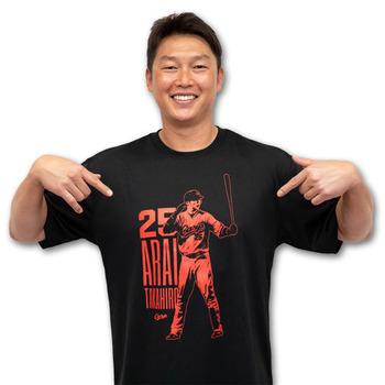 新井Tシャツ引退16