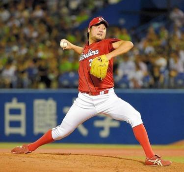 中崎翔太 61試合 防御率1.32 セーブ34