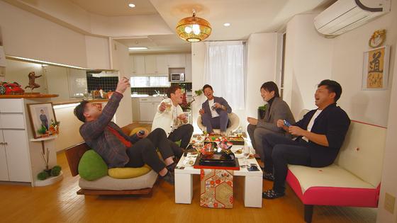 20190101RCC新井さん家の新年会1