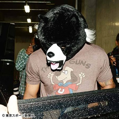 ジャクソン熊マスク1