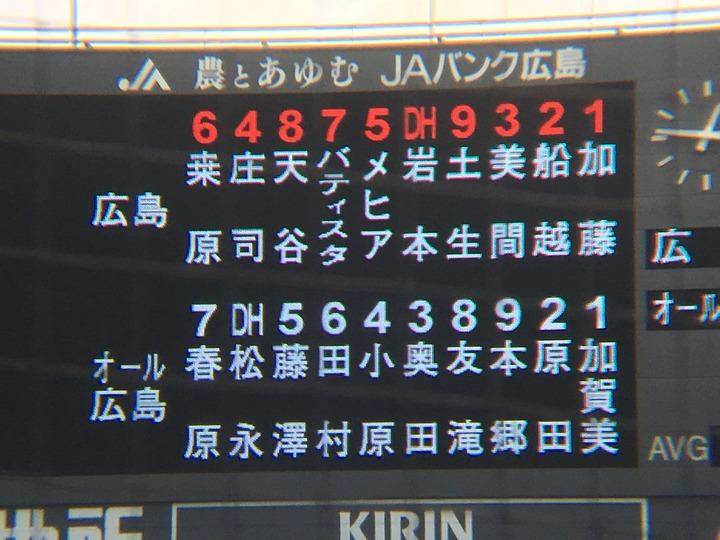 20170307練習試合オール広島戦3