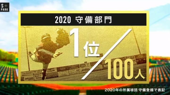 20201206プロ野球100人分の1位_守備8