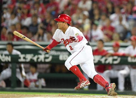 最高出塁率、田中広輔←これすごくね?