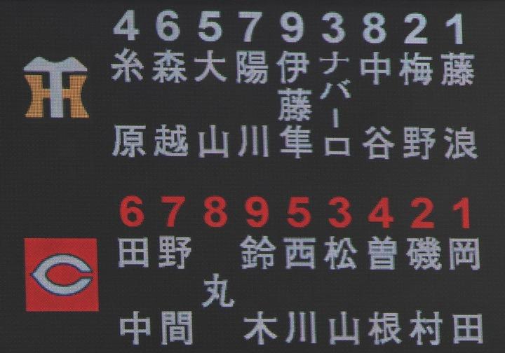 【広島】曽根が移籍後初スタメン 7番セカンドで出場 菊池はベンチ休養