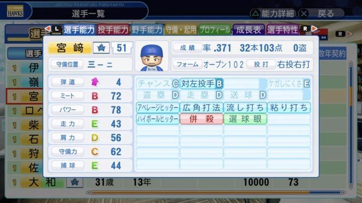 パワプロ丸新井抜きペナント12