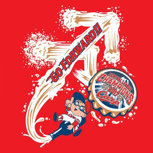 2017カープビールかけTシャツ2