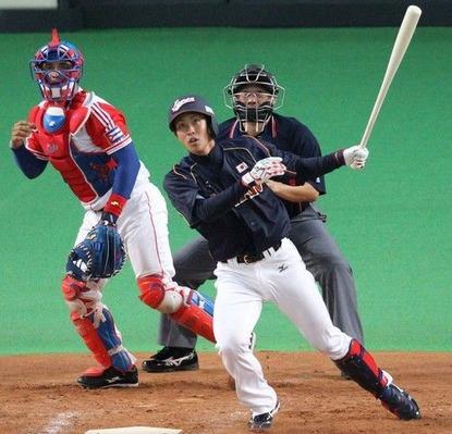 堂林日本代表1