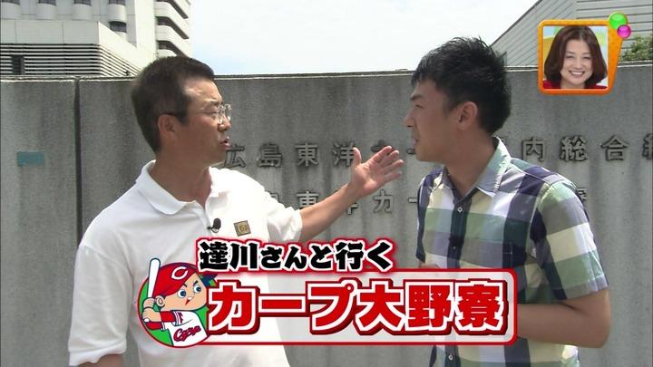 達川さんと行くカープ二軍寮01