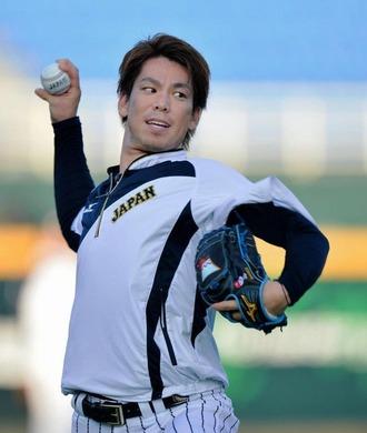 マエケン日本代表50