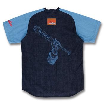 デニムユニフォーム型シャツ2