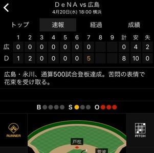 永川500試合達成5