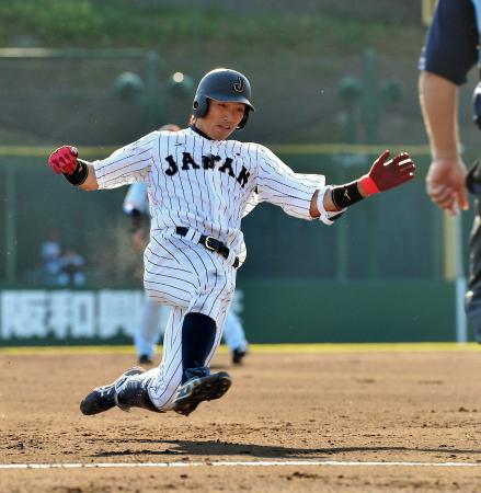 鈴木誠也日本代表1
