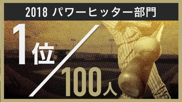 2018プロ野球100人分の1位2