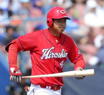 カープ林晃汰がプロ入り初の1軍昇格!2軍で57試合4番に座り本塁打&打点トップ! スコットを抹消