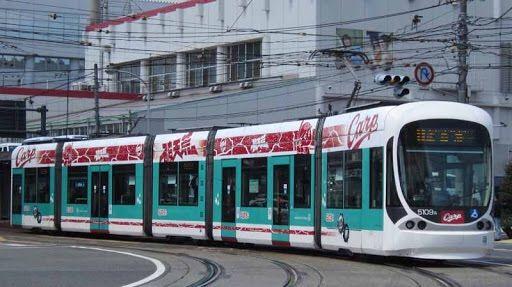 広島路面電車カープ2