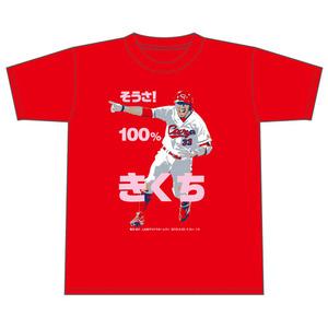 菊池サヨナラホームランTシャツ1