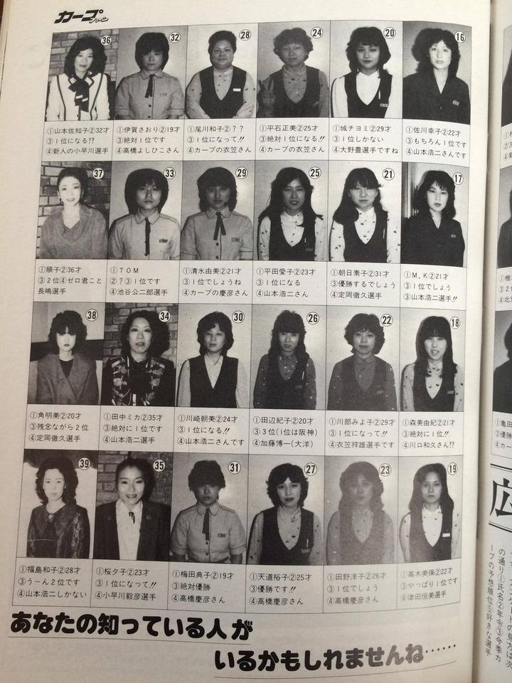 1984月刊カープファン2