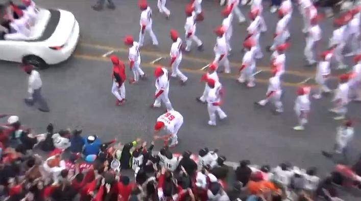 沖縄優勝パレード14