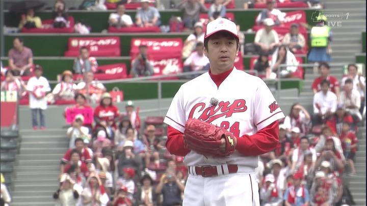 徳井始球式