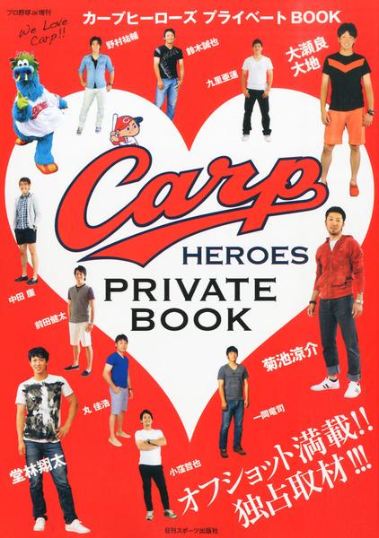 プロ野球ai増刊カープヒーローズプライベートブック