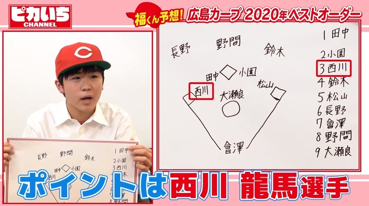 20200203鈴木福広島カープ愛を語り尽くす086