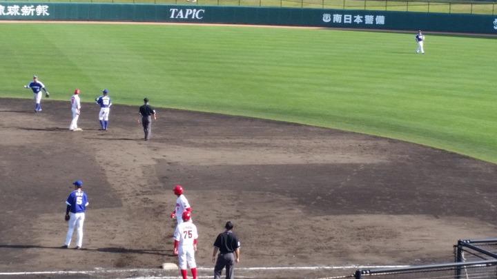20180218練習試合_中日戦15