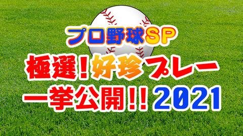 明日19:00からBS日テレで「プロ野球SP極選!好珍プレー一挙公開!2021」放送