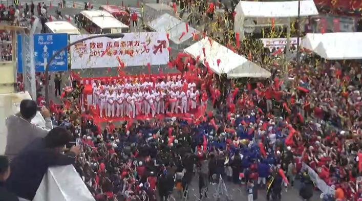 沖縄優勝パレード49