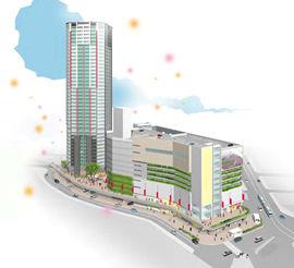 広島駅南口Cブロック市街地再開発事業
