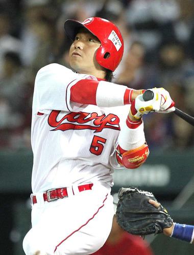 広島の長野久義が2019年シーズンで残しそうな成績
