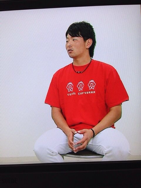 大瀬良チームカピバラTシャツ3