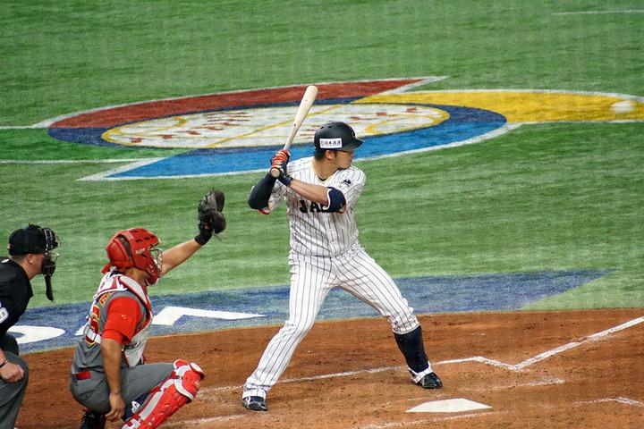 鈴木誠也日本代表60