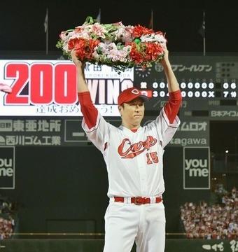黒田日米通算200勝87
