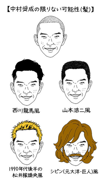 中村奨成パンチパーマ1