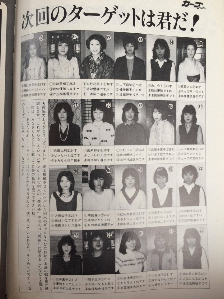 1984月刊カープファン4