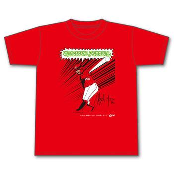 メヒア来日初ホームランTシャツ1