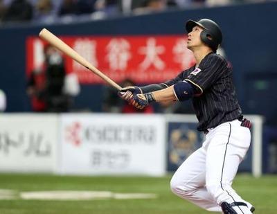 鈴木誠也日本代表52