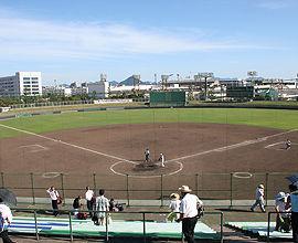 広島県総合グランド野球場1
