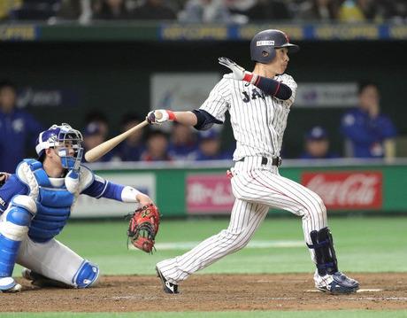 西川龍馬日本代表7