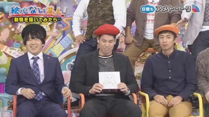 20170122アメトーーク絵心ない芸人マエケン73