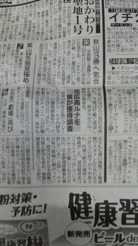 2010612新聞_阪神がルナを調査1